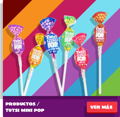 Paletas Tutsi Mini Pop